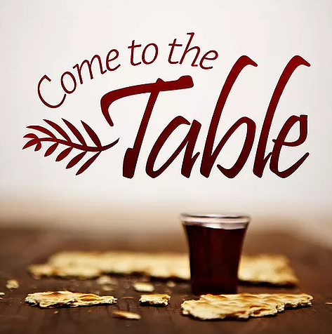 """""""Come Near To My Table To Minister To Me"""""""